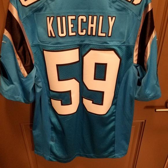 Carolina Panthers LB Luke Kuechly Jersey